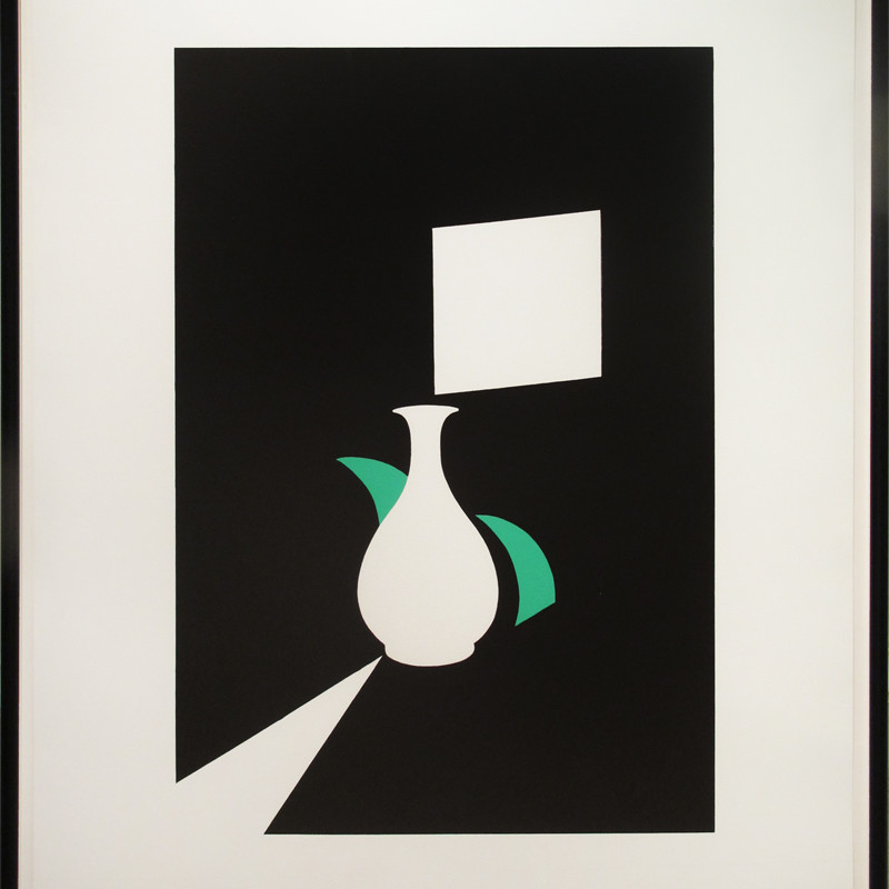 Patrick Caulfield, Lung Ch'uan Ware and Window