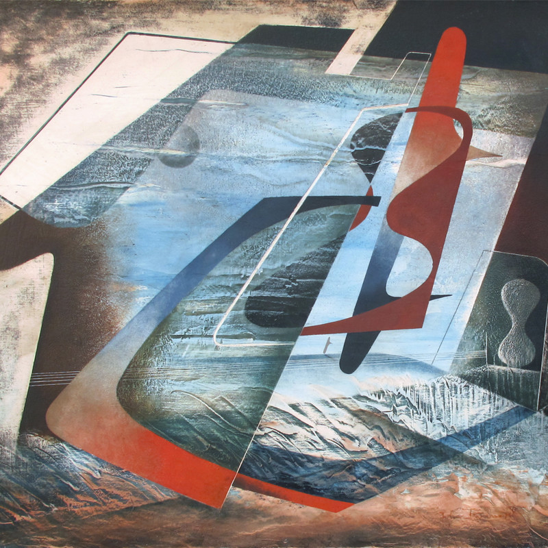 John Tunnard - Abstract Composition