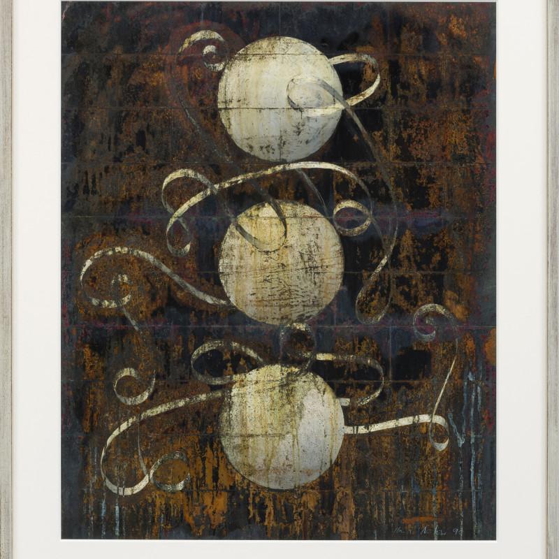 Keith Milow, Cat 21 Drawing 90/38/23/LD