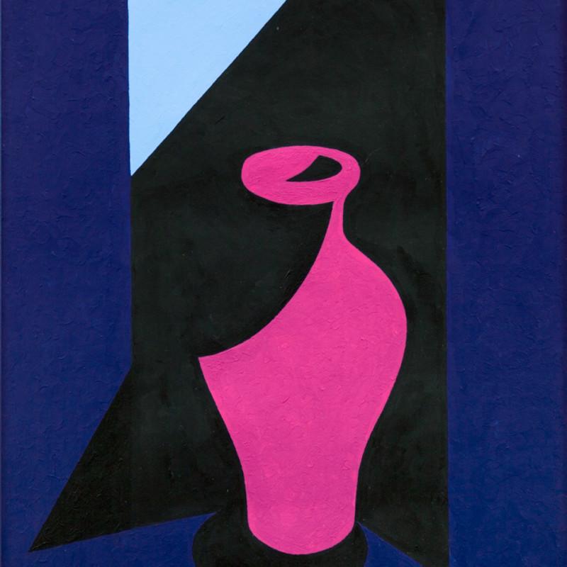 Patrick Caulfield, Magenta Vase