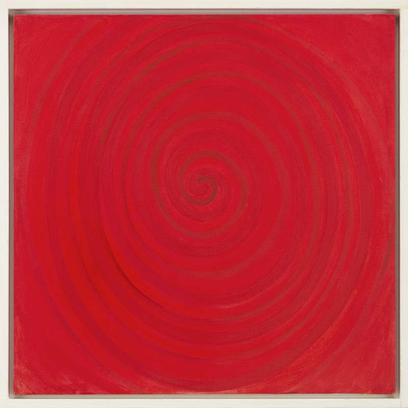 Terry Frost, Spiral for Red