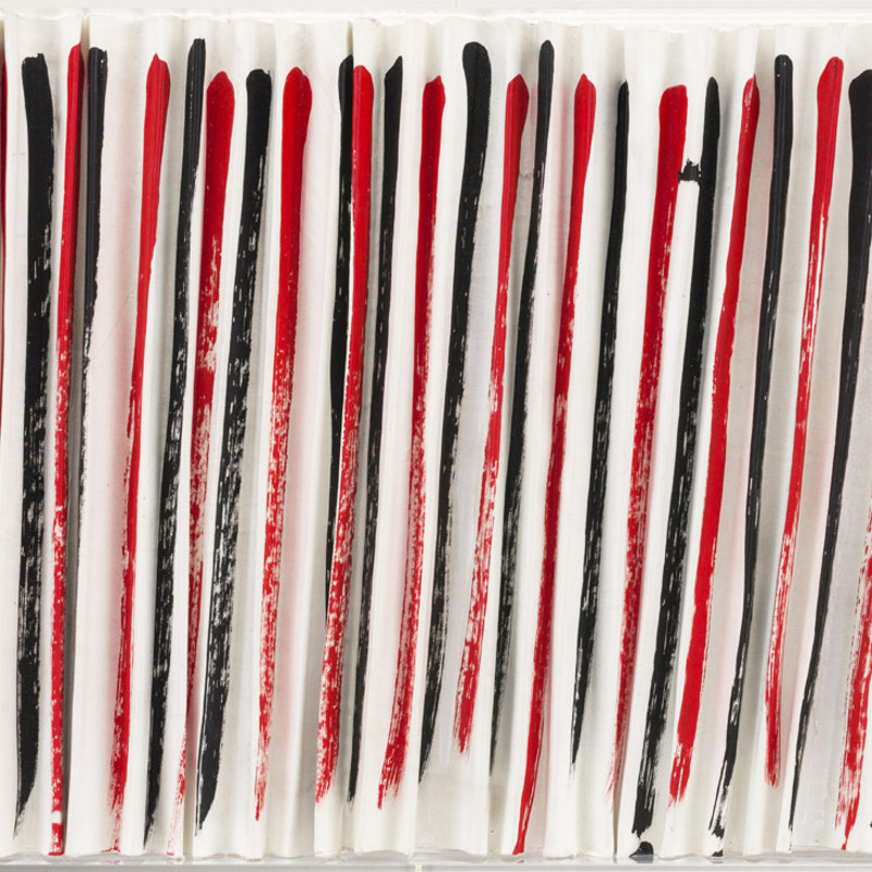 Terry Frost, Red, Black, White Squeeze
