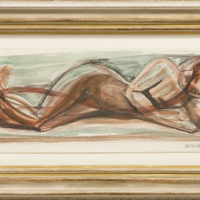 Sven Berlin, Cat 3 Reclining Nude