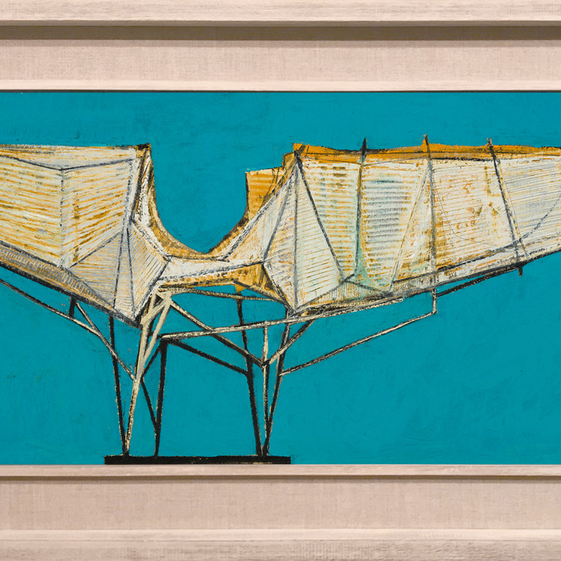 Leigh Davis, Wingspan, Study for a Sculpture