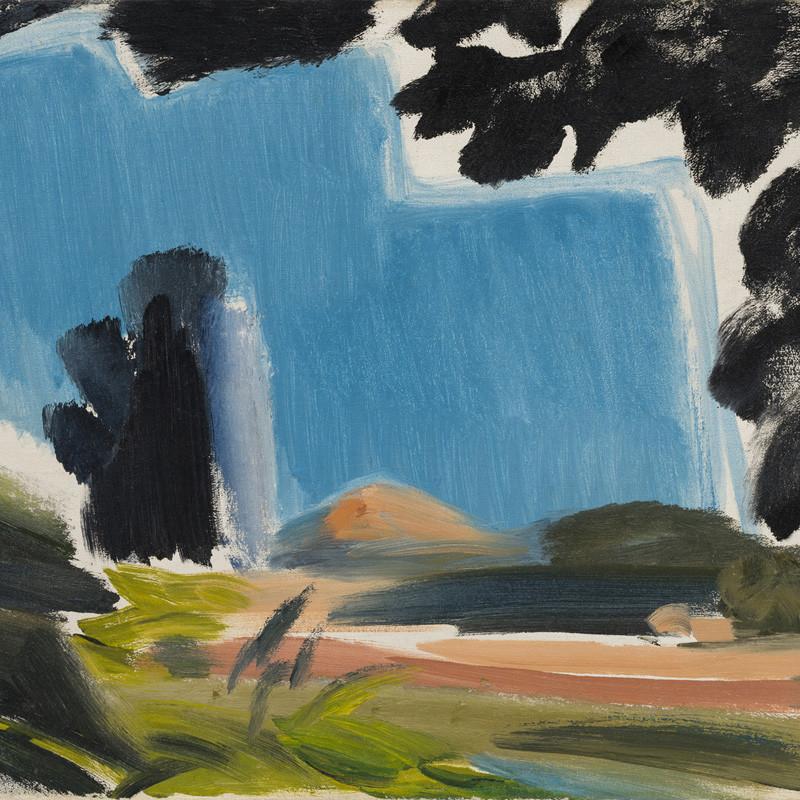 Ivon Hitchens, Summer Sky & Fields, 1954