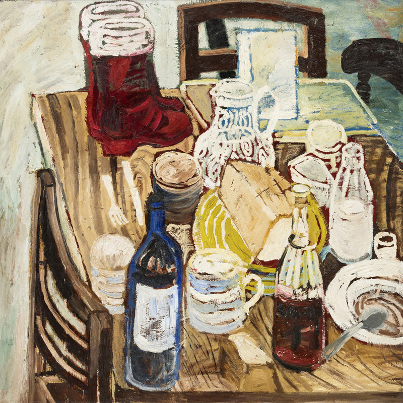 John Bratby, Red Boots
