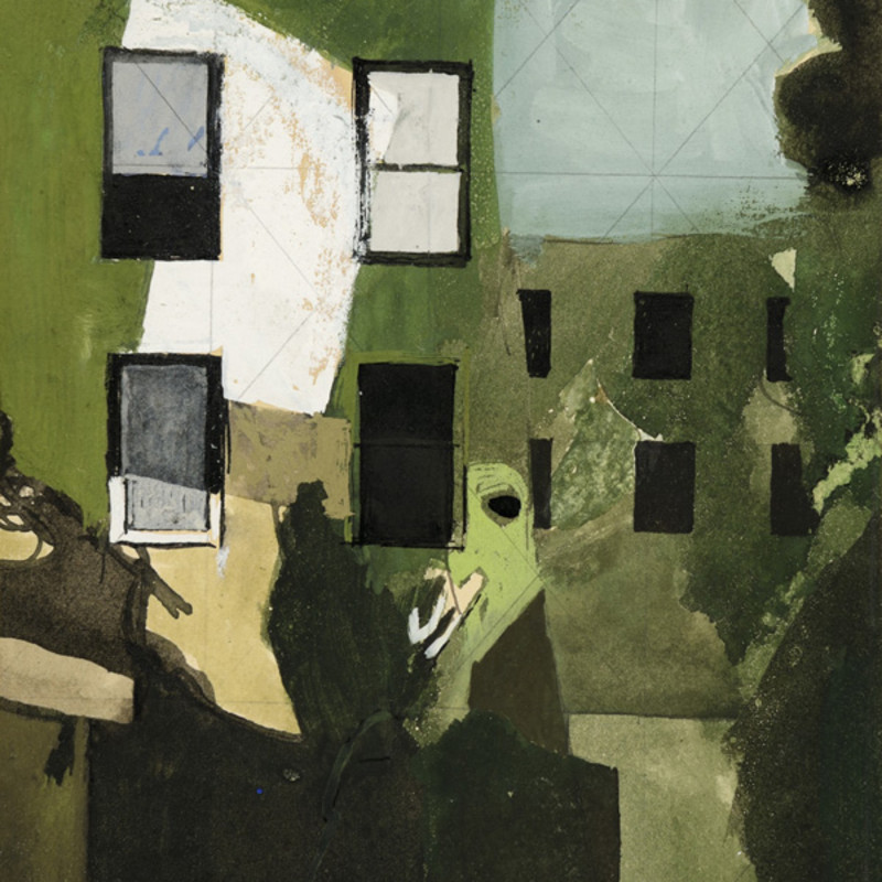 Keith Vaughan - Demolished Houses in St John's Wood