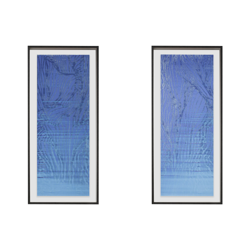 Untitled -II (diptych)