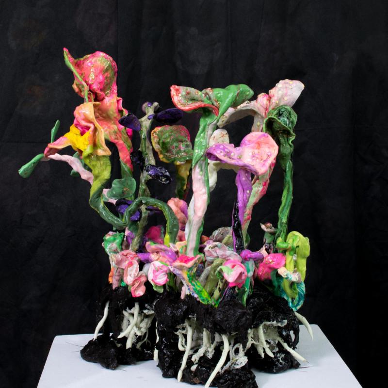 <span class=&#34;artist&#34;><strong>Stefan Gross</strong><span class=&#34;artist_comma&#34;>, </span></span><span class=&#34;title&#34;>Stranger Flowers - II<span class=&#34;title_comma&#34;>, </span></span><span class=&#34;year&#34;>2018</span>
