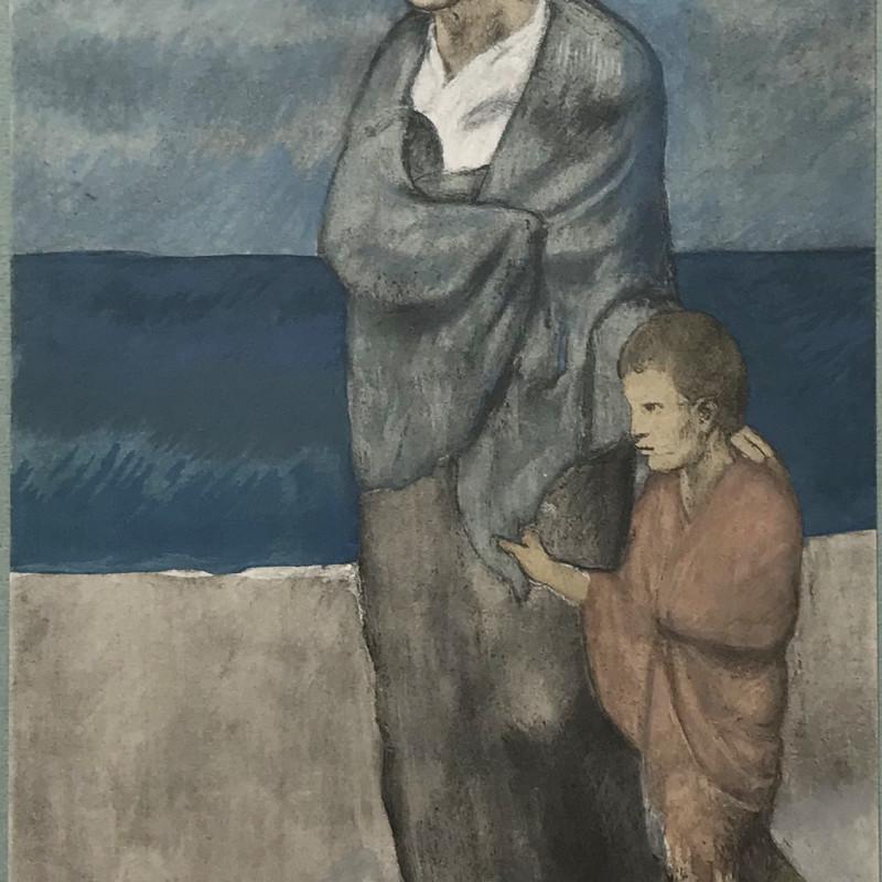 Pablo Picasso - Femme et enfant, 2021