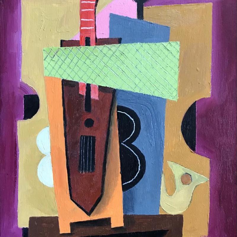 Erik Renssen - Still life with instruments, 2021