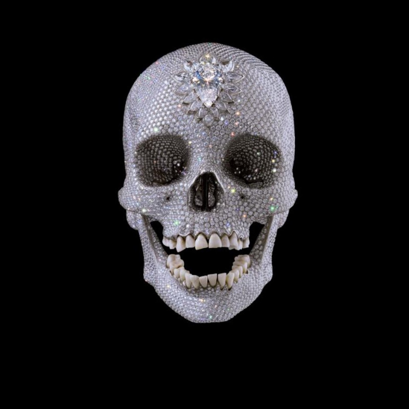 Damien Hirst, For The Love of God 2012