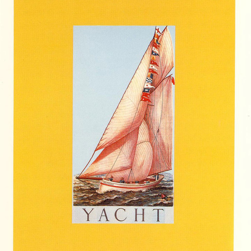 Peter Blake, Y is for Yacht