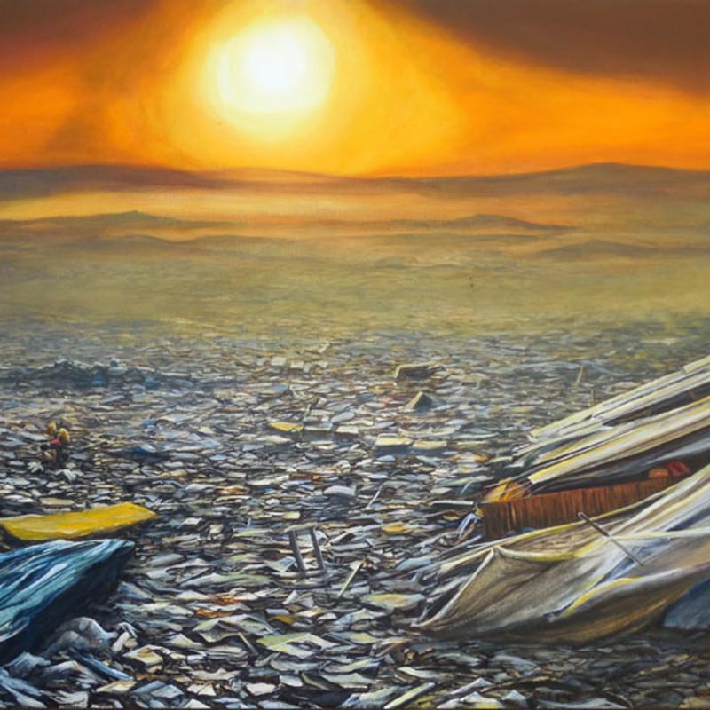 Jeff Gillette, Slum Landfill Sunset