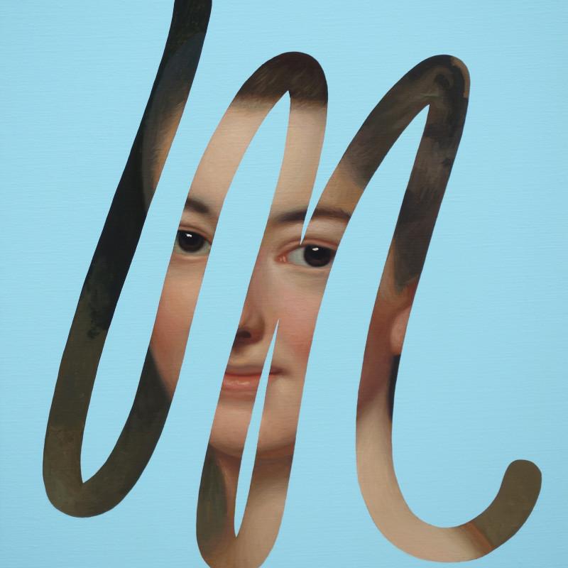 Lino Lago, Fake Abstract (Alexander Roslin), 2020