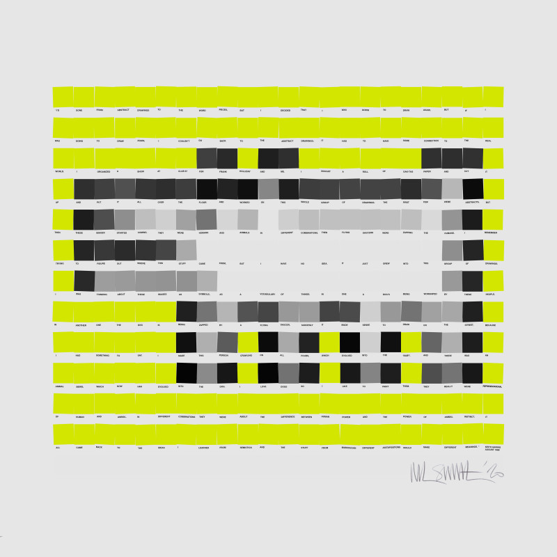 Nick Smith, Haring Dog - Yellow, 2020