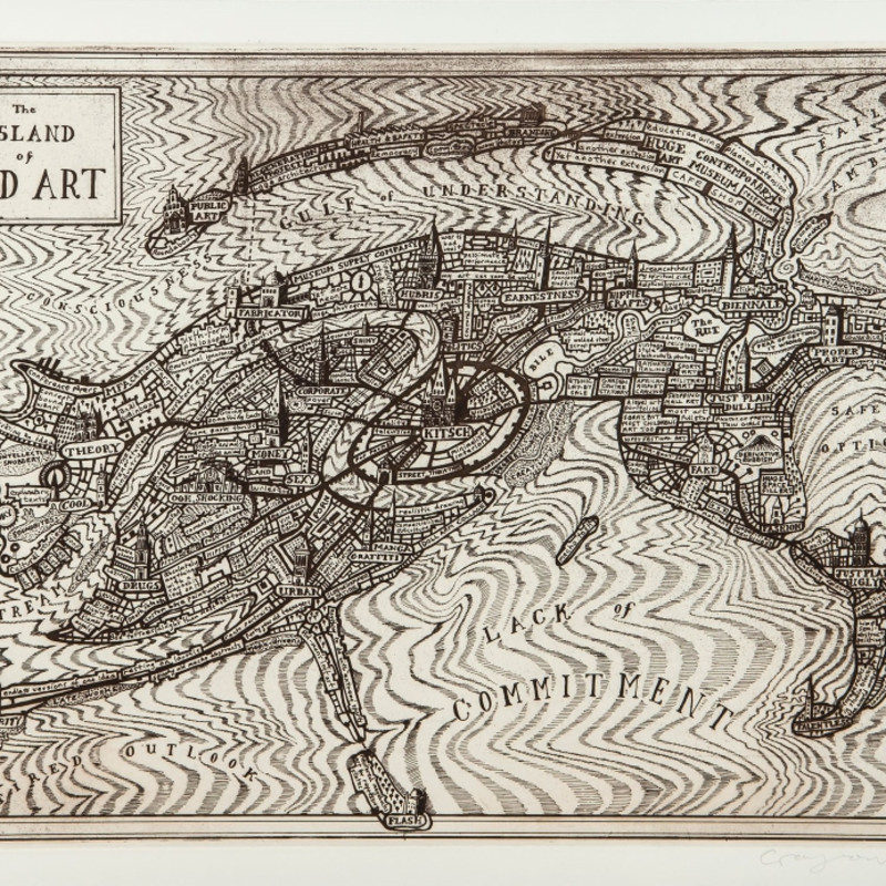 Grayson Perry, The Island of Bad Art