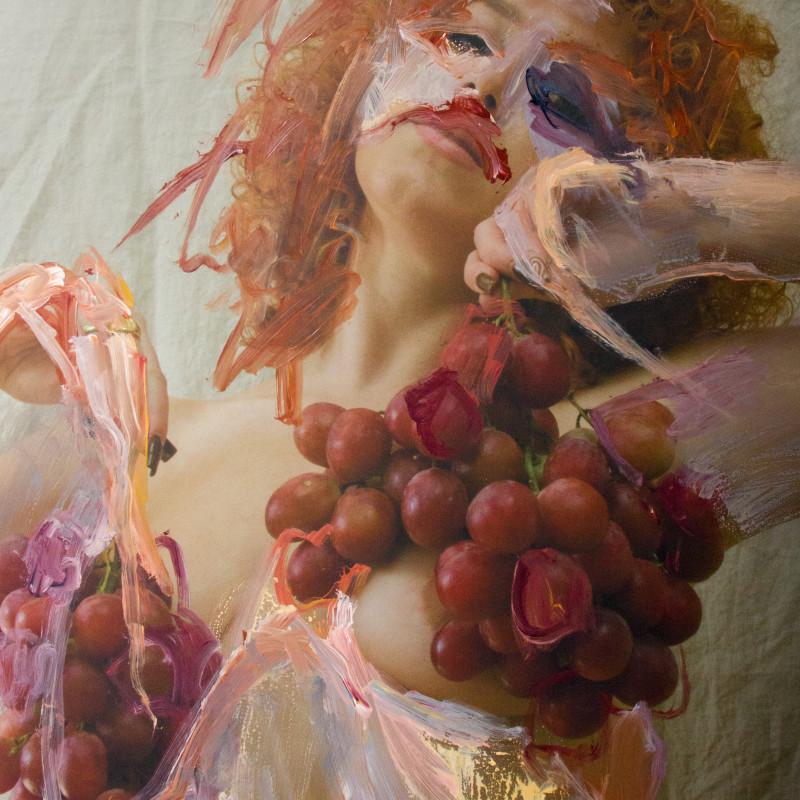 Jess Cochrane, A Crushed Grape, 2021