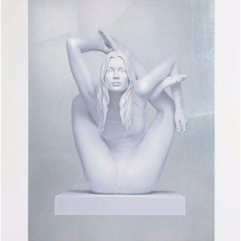 Marc Quinn, Sphinx - Silver Leaf