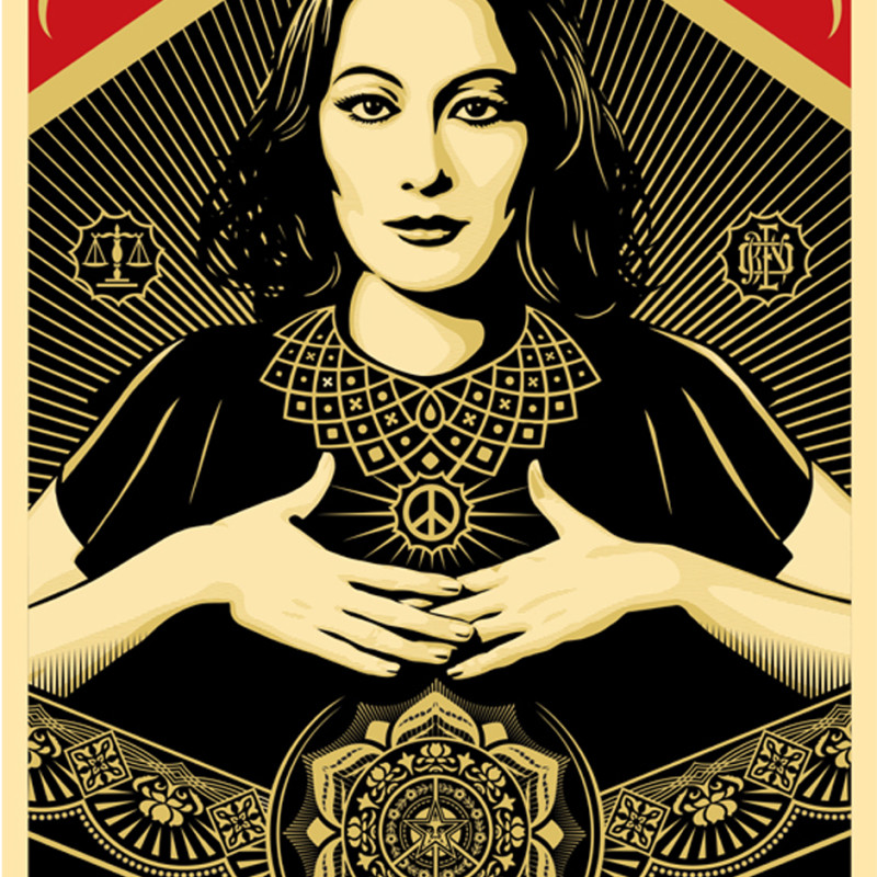 Shepard Fairey (OBEY), Peace & Justice Woman