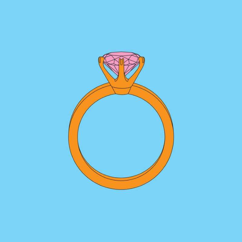 Michael Craig-Martin, Diamond Ring