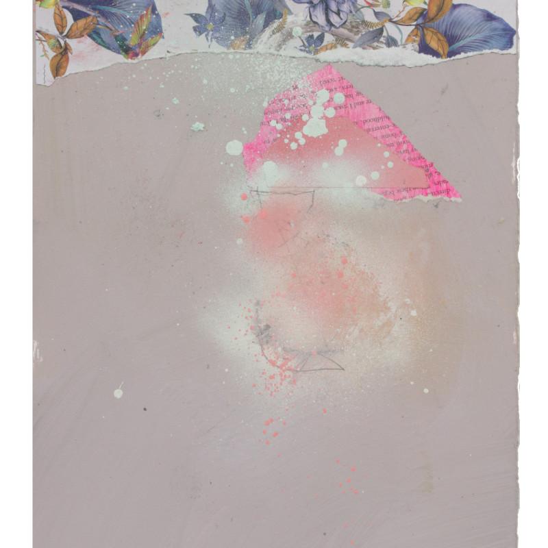 Alayne Spafford, Icy Neon Garden, 2020