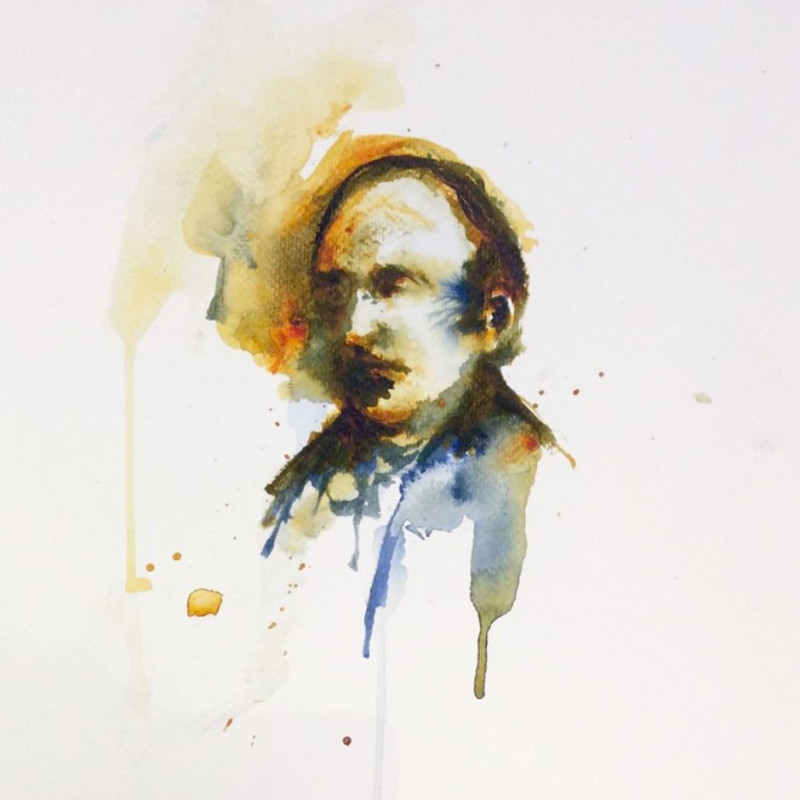 Florian Eymann, Watercolour No 150 117 2