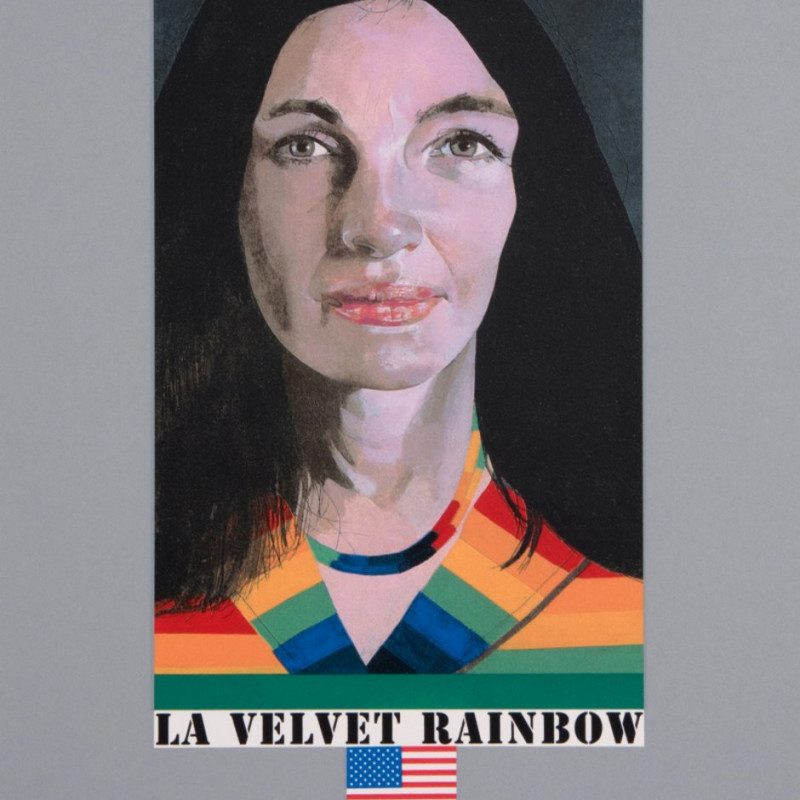 Peter Blake, LA Velvet Rainbow