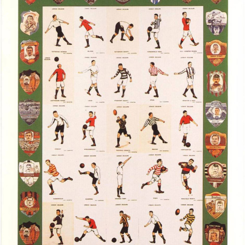 Peter Blake, F is for Football