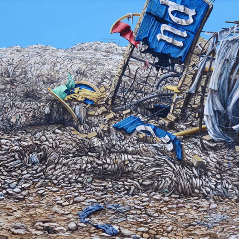 Jeff Gillette, Slum Landfill Disneyland Sign End