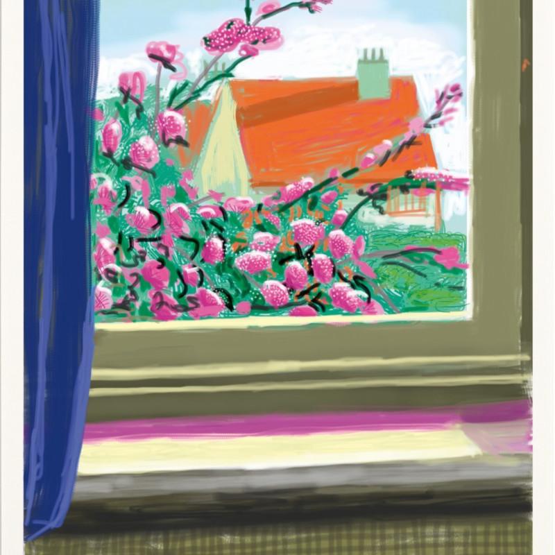 David Hockney, My Window, Art Edition (No. 751–1,000) 'No. 778', 17th April 2011, 2019
