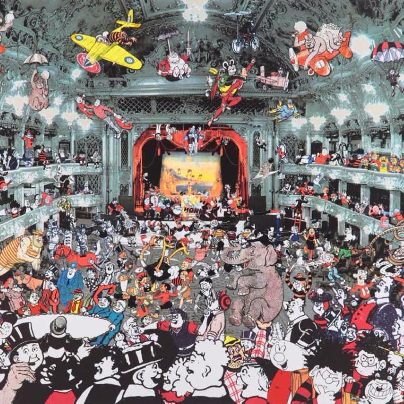 Peter Blake, Marcel Duchamp's World Tour – DC Thomson Reunion at the Tower Ballroom Blackpool