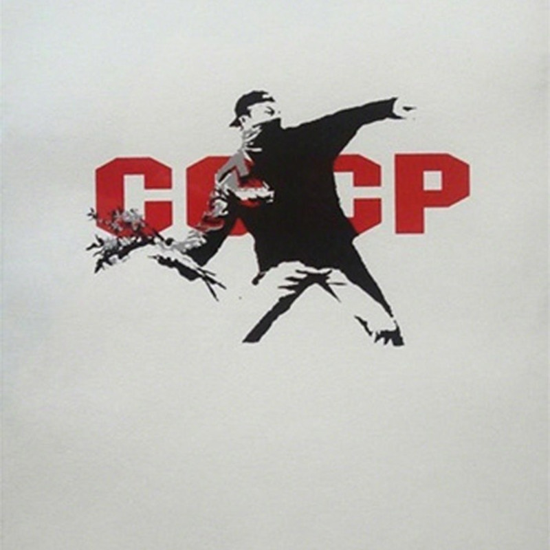 Banksy, CCCP (Love Is In The Air)