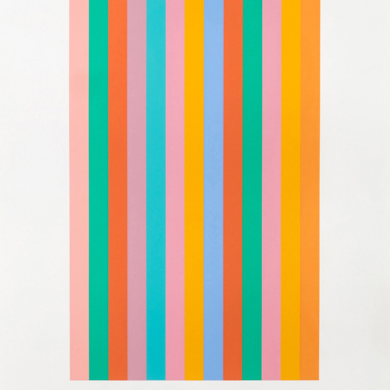 Bridget Riley, Around, 2011