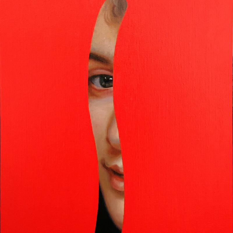 Lino Lago, Fake Abstract (Bouguereau), 2020