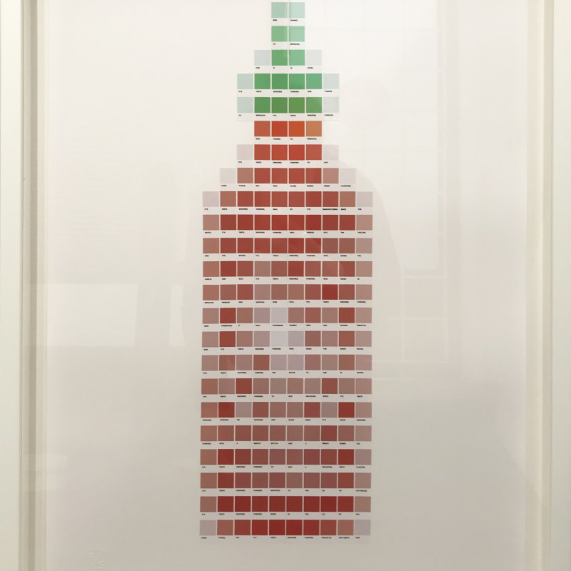 Nick Smith, Psalm 138 - Sriracha Sauce, 2020
