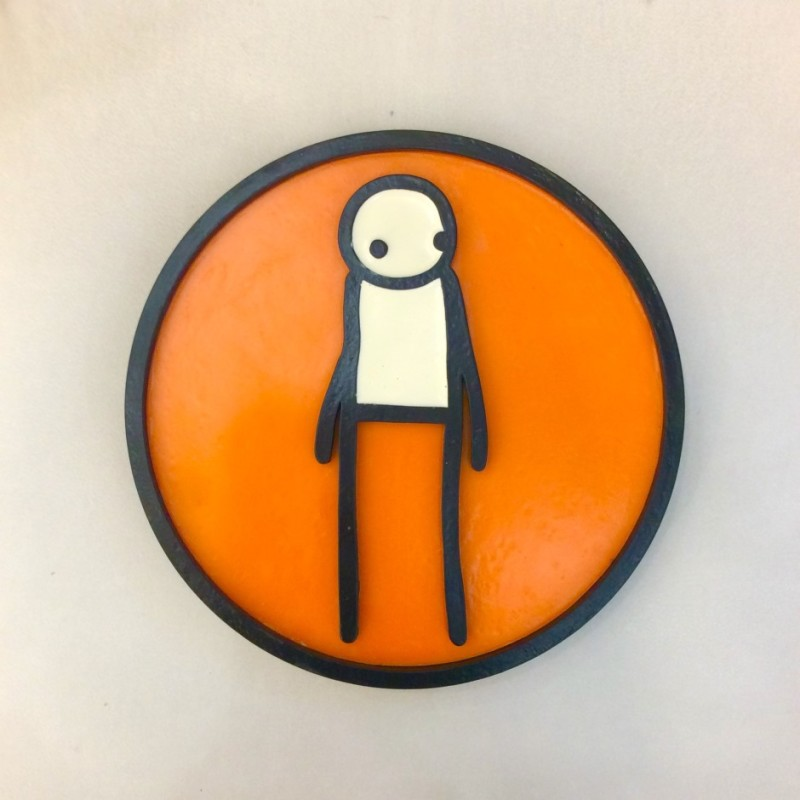 STIK - Plaque (Orange)