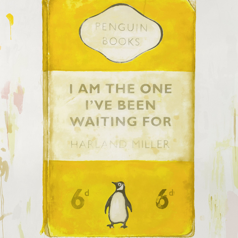 Harland Miller, I am the one i've been waiting for, 2016