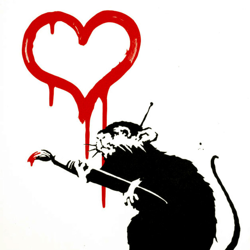 Banksy, Love Rat