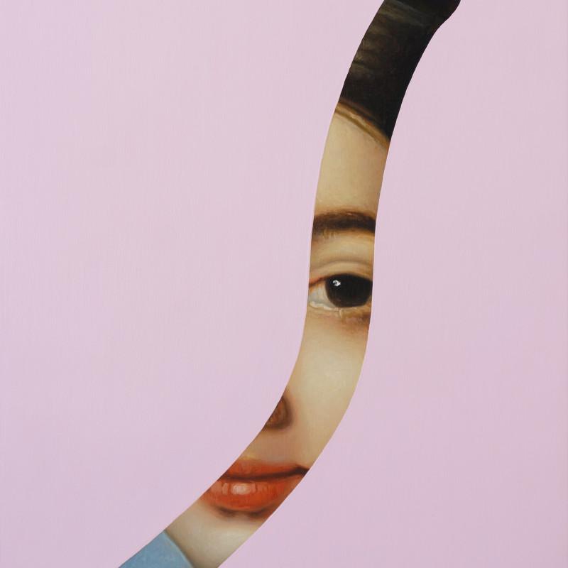 Lino Lago, Fake Abstract (Ingres), 2021