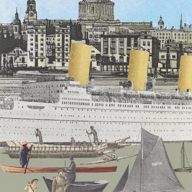 Peter Blake, World Tour: London, Regatta II
