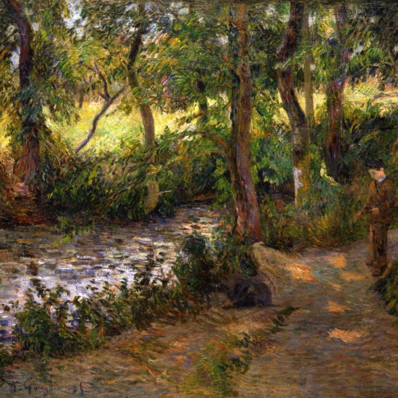 Paul Gauguin - La Sente du Père Jean, 1885