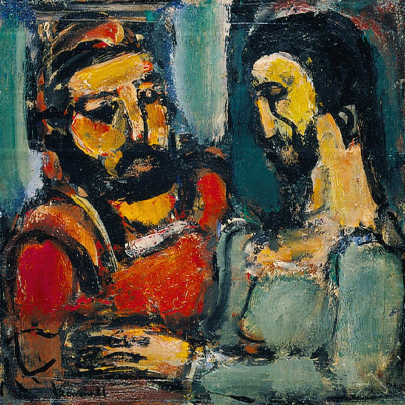 Georges Rouault - Christ and Doctor