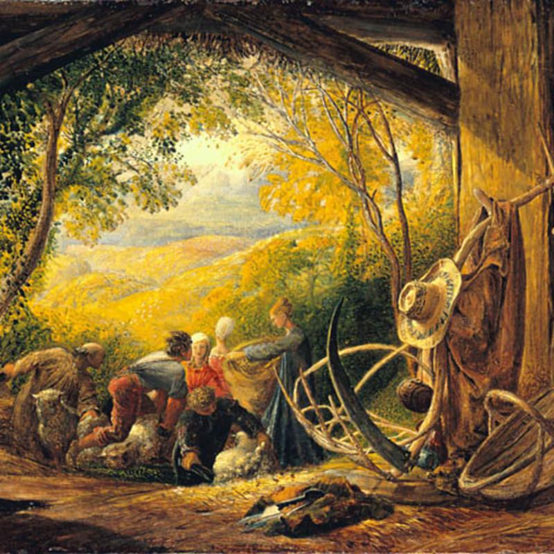 Samuel Palmer - The Shearers