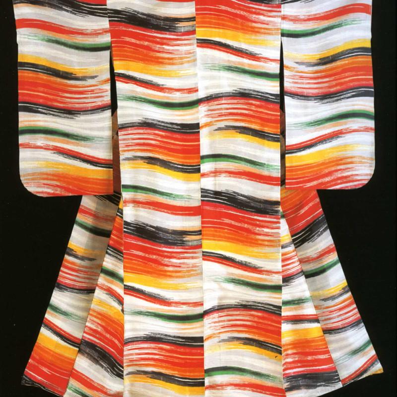 Kimonos from the Montgomery Collection of Japanese Folk Art - Woman's kimono