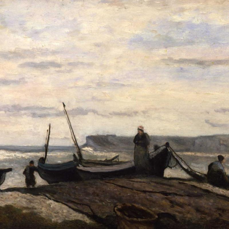 Jean-Baptiste-Camille Corot - Yport, 1872