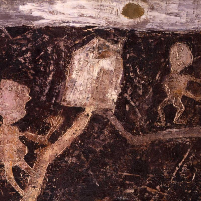 Jean Dubuffet - La Maison Aux deuz Chemins