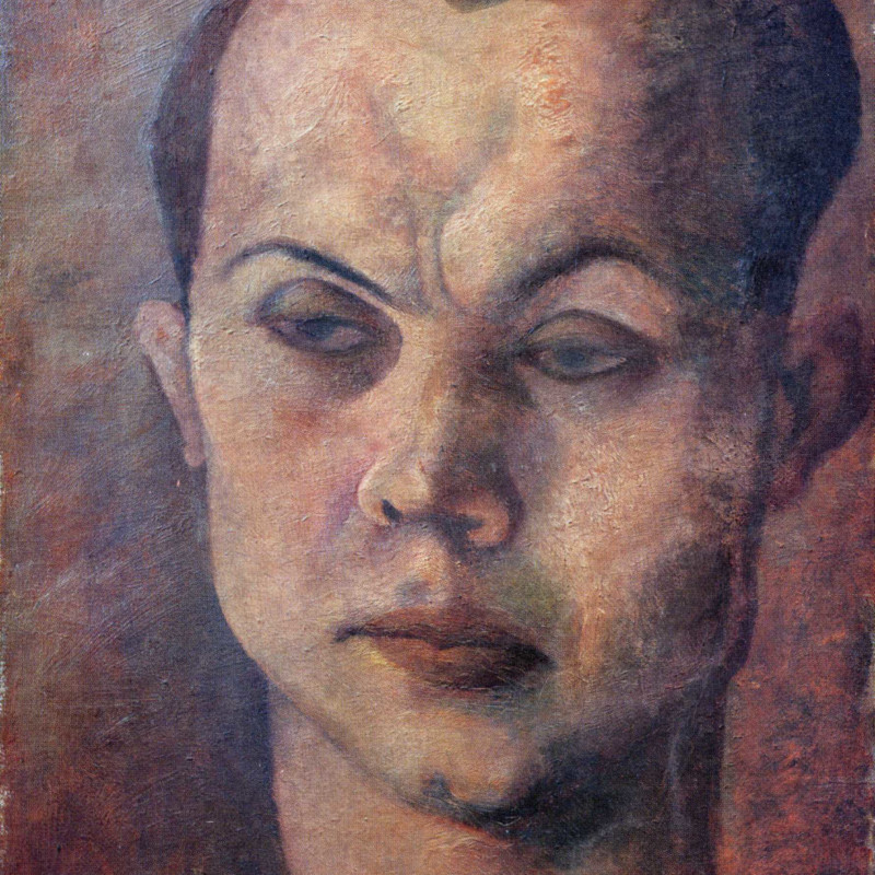 Pavel Tchelitchew - Head of a Man