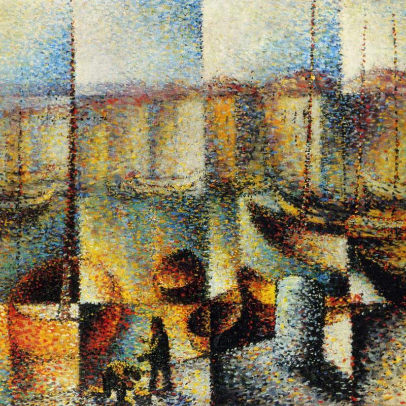 Arthur Segal - Marseilles