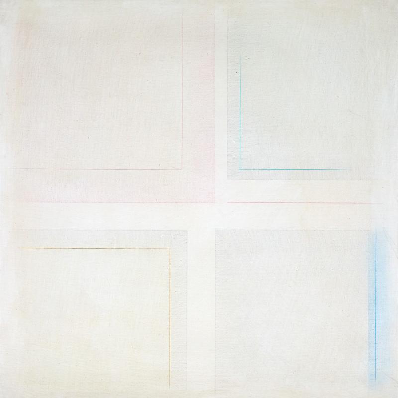 Riccardo Guarneri, 2 quadrati e 2 rettangoli, 1972